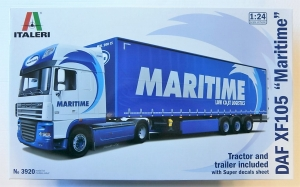 ITALERI 1/24 3920 DAF XF105 MARITIME  UK SALE ONLY