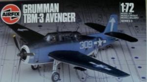 AIRFIX 1/72 03033 GRUMMAN TBM-3 AVENGER