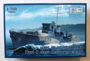 IBG MODELS 1/700 70005 HMS MIDDLETON 1943