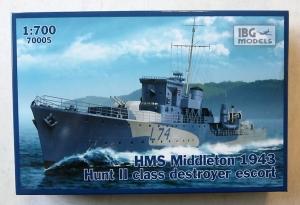 IBG MODELS 1/700 70005 HMS MIDDLETON 1943