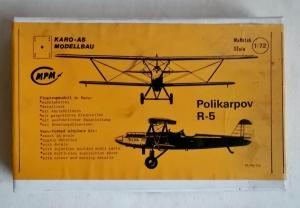 KARO 1/72 POLIKARPOV R-5