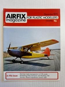 AIRFIX  AIRFIX MAGAZINE 1973 DECEMBER