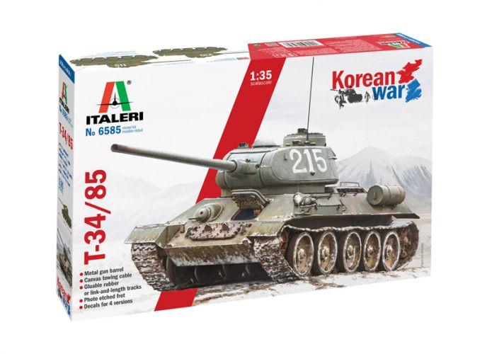 ITALERI 1/35 6585 T-34/85 KOREAN WAR