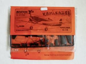 AVIATION USK 1/72 1001 KAMIKAZE NAKAJIMA Ki-115