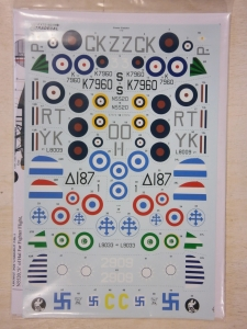 XTRADECAL 1/72 72183 GLOSTER GLADIATORS