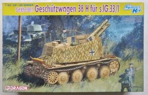 DRAGON 1/35 6470 Sd.Kfz.138/1 GESCHUTZWAGEN 38 H Fur S.1G.33/1