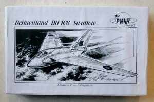 PLANET MODELS 1/72 046 De HAVILLAND DH 108 SWALLOW