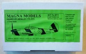 MAGNA 1/72 6972 HAWKER HENLEY TT-111