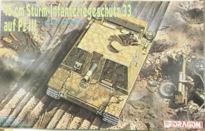 DRAGON 1/35 6042 15cm STURM-INFANTERIEGESCHUTZ 33 AUF Pz III