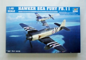 TRUMPETER 1/48 02844 HAWKER SEA FURY FB.II