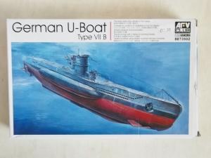 AFV CLUB 1/350 73502 TYPE VIIB U-BOAT