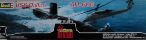 REVELL  5072 USS DALLAS/SH-60B HUNT FOR RED OCTOBER 1/400 1/100