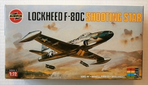 AIRFIX 1/72 02043 LOCKHEED F-80C SHOOTING STAR