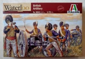 ITALERI 1/72 6041 NAPOLEONIC BRITISH ARTILLERY