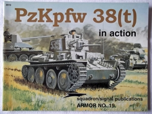 SQUADRON/SIGNAL ARMOR IN ACTION  2019. Pz.Kpfw 38 t