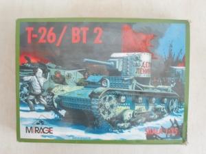 RPM 1/35 T-26/BT 2