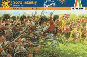 ITALERI 1/72 6136 SCOTS INFANTRY NAPOLEONIC WARS