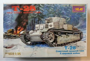 ICM 1/35 35031 T-28