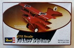 REVELL 1/72 H52 FOKKER TRIPLANE