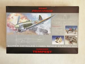 EDUARD 1/48 8022 HAWKER TEMPEST Mk.V PROFIPACK