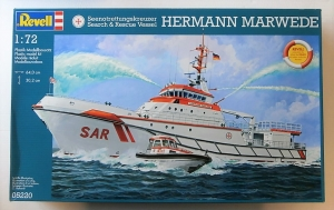 REVELL 1/72 05220 HERMANN MARWEDE SEARCH AND RESCUE  UK SALE ONLY