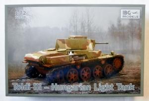 IBG MODELS 1/72 72030 TOLDI III HUNGARIAN LIGHT TANK