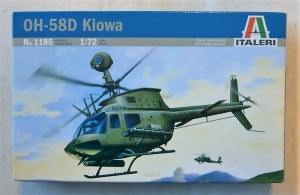ITALERI 1/72 1185 BELL OH-58D KIOWA