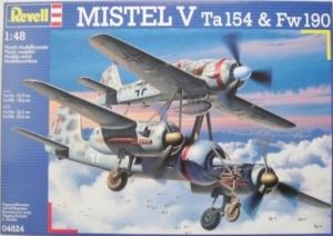 REVELL 1/48 04824 MISTEL V Ta 154   Fw 190