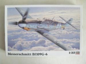 HASEGAWA 1/32 ST17 MESSERSCHMITT Bf 109G-6