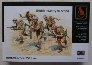 MASTERBOX 1/35 3580 BRITISH INFANTRY NORTH AFRICA WWII ERA