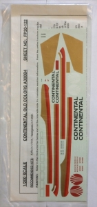 FLIGHTPATH 1/200 1474. 20122 CONTINENTAL OLD COLORS A300B4