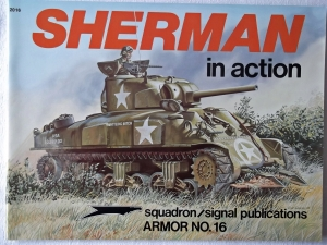 SQUADRON/SIGNAL ARMOR IN ACTION  2016. SHERMAN