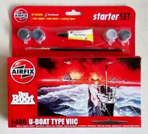 AIRFIX 1/400 55113 U-BOAT TYPE VIIC STARTER SET