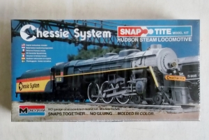 MONOGRAM  1106 CHESSIE SYSTEM HUDSON STEAM LOCOMOTIVE