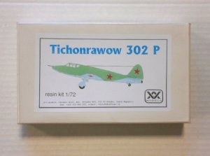 A   V MODELS 1/72 TICHONRAWOW 302 P