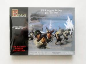 PEGASUS HOBBIES 1/72 7351 US RANGERS D-DAY