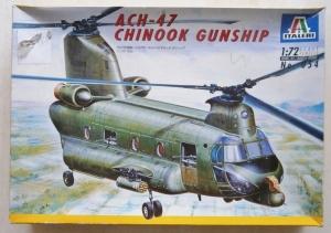 ITALERI 1/72 054 ACH-47 CHINOOK GUNSHIP