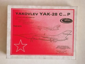 CONTRAIL 1/72 YAKOVLEV YAK-28 C AND P