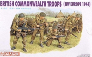 DRAGON 1/35 6055 BRITISH COMMONWEALTH TROOPS NW EUROPE 1944