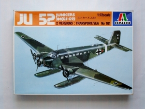 ITALERI 1/72 101 JUNKERS Ju 52/3M G5 G9 TRANSPORT/SEA