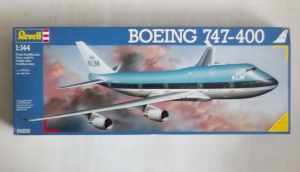 REVELL 1/144 04222 BOEING 747-400 KLM