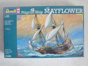 REVELL  05486 MAYFLOWER PILGRIM SHIP 1/83