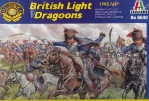 ITALERI 1/72 6040 NAPOLEONIC BRITISH LIGHT DRAGOONS