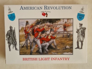 CALL TO ARMS 1/32 32 BRITISH LIGHT INFANTRY - AMERICAN REVOLUTION