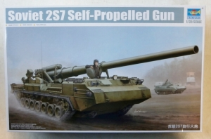 TRUMPETER 1/35 05593 SOVIET 2S7 SELF-PROPELLED GUN