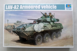 TRUMPETER 1/35 01521 LAV-A2 ARMOURED VEHICLE
