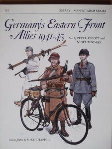 OSPREY  131. GERMANYS EASTERN FRONT ALLIES 1941-45