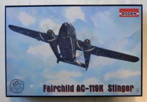 RODEN 1/144 322 FAIRCHILD AC-119K STINGER