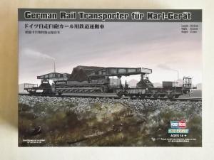 HOBBYBOSS 1/72 82906 GERMAN RAIL TRANSPORTER FOR KARL-GERAT