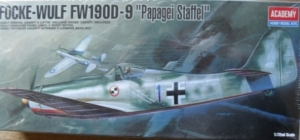 1/72 1611 FOCKE-WULF Fw 190D-9 PAPAGEI STAFFEL